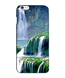 Crazymonk Premium Digital Printed 3D Back Cover For Apple I Phone 6S