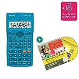 Casio FX-82SX Plus + Lern-CD (auf Deutsch) + Erweiterte Garantie