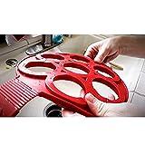 immagine prodotto Omelet Fantastic Fast & modo semplice perfetto Nonstick Silicone Uovo Anello pancake Form