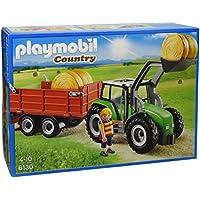 Playmobil Tractor con tráiler (61300)