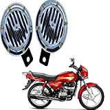 RWT Silver Crome Bike Horn for Hero Splendor Plus