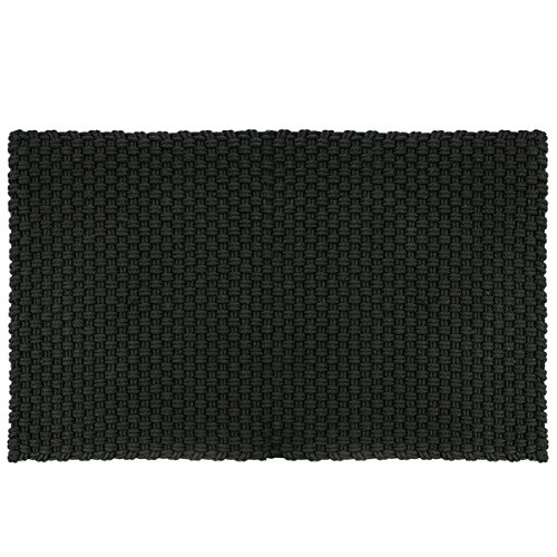 Pad - Fußmatte - Fußabtreter - Uni - Indoor/Outdoor - schwarz - 72 x 92 cm