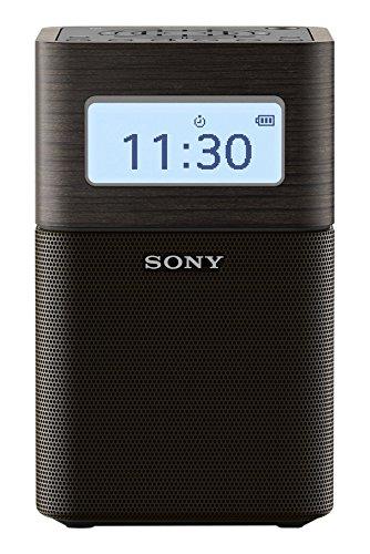 Sony SRFV1BTB - Radio Despertador FM/Am con Bluetooth