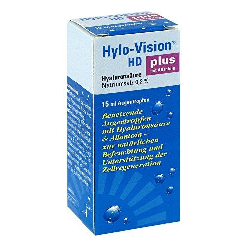 Hylo-Vision HD Plus Augentropfen, 15 ml