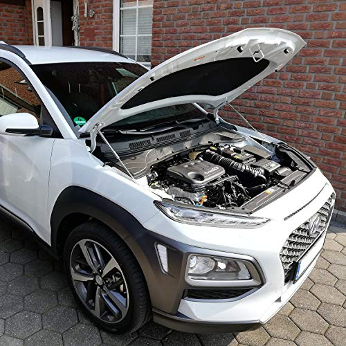 WES.Tuning Motor Haubenlifter Hyundai Kona 2017- (Paar) Hoodlift/Motorhaubenlifter (Diesel Tuning Motor)