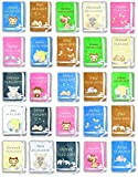 Amilian® Kuschlige Babydecke SUPER FLAUSCHIG mit Namen und Datum bestickt Kinderdecke