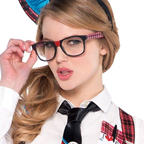 Geek Kostüm Dress Up - Amscan International Geek/Nerd Glasses by Amscan International