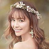 Surenhap Blumenkranz Haare und Arm