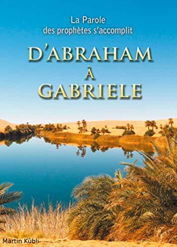 Couverture du livre D'Abraham à Gabriele