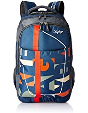 Skybags Geek 48 Ltrs Blue Laptop Backpack (GEEK02BLU)