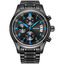 Songdu Multi Function Mens Quartz Watch