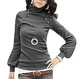 store-online-tienda-en-linea-lathpin-las-mujeres-de-manga-larga-de-cuello-alto-blusa-tnica-camiseta-t13