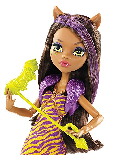 Image of Monster High DNX19 Welcome to Monster High Clawdeen Wolf Doll