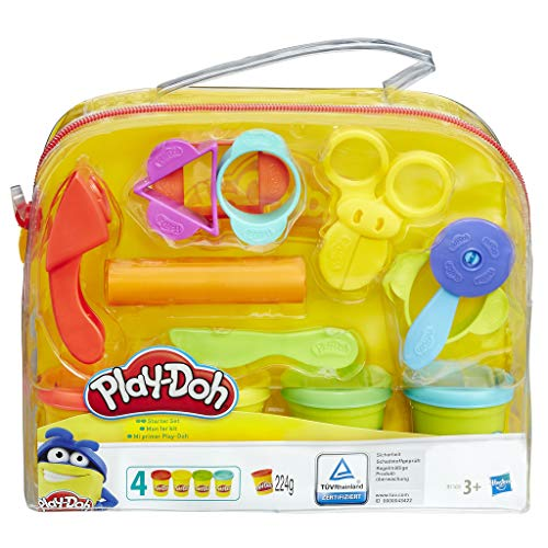 Hasbro play-doh starter set, sacca di play-doh