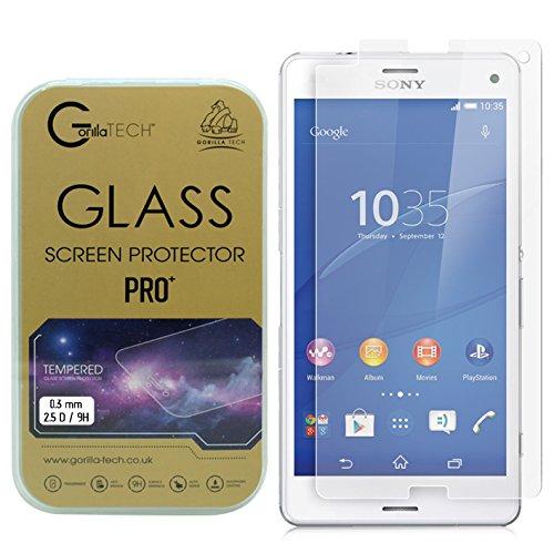 Gorilla Tech Sony Xperia Z2 Flat Gorilla Glass GTGSO0Z2 Displayschutzfolie, Sony Xperia Z2, durchsichtig, Stück: 1