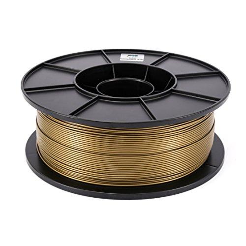 JANBEX PLA (Bronze) Filament 1,75 mm 1kg Rolle für 3D Drucker oder Stift in Vakuumverpackung - G Spule Stift