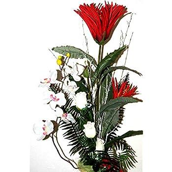 Büro Zeremonial Deko Kunstblume Gesteck Tischdeko künstliche Dekoration LN8-02