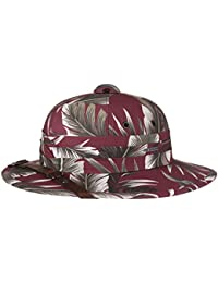 Stetson Casco Coloniale Salonga Flower Cappello Estivo Outdoor da Safari 51caa41af390