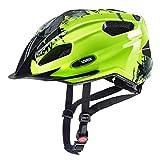 Uvex Quatro Junior Kinder Fahrrad Helm Gr. 50-55cm gelb