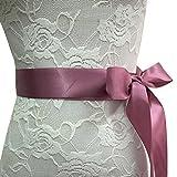 WEIMEITE Hecho A Mano de Cristal Rhinestone Cinturón Nupcial Embellecido Faja de Satén Cinturón de Boda para Las Mujeres de Color 8