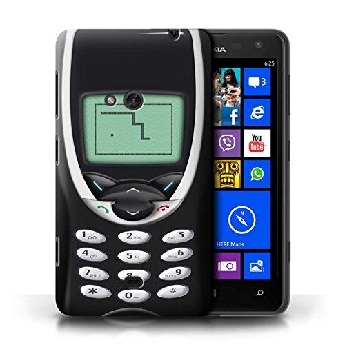Etui / Coque pour Nokia Lumia 625 / Nokia 8210 bleu conception / Collection de Portables rétro Nokia 8210 noir