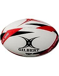 Gilbert G-TR3000 - Pelota de rugby, color rojo, talla3
