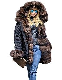 Parka Pelz Winter MantelMantel Casual Roiii Luxury PZOuiTwkX