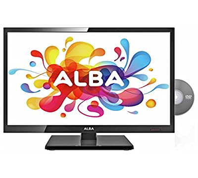 "Boxed Brand New Alba Aelkdvd1988 19"" Led Freeview Dvd Combi Hd Ready Tv *genuine*"