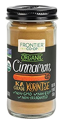 Frontier Organic Cinnamon Ground, 1.9 Ounce Container