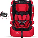 Sillas de coche Asiento de seguridad para niños / coche con asiento de coche de bebé / 0-4-9 meses 3-12 años de edad silla de coche para niños Bebé Sillas de Coche ( Color : A , Tamaño : 47*45*74cm )