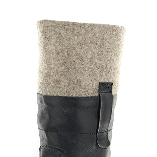 Sendra Boots - Stivali western Donna Vibrant Negro