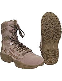 """'Botas, """"Tactical, Plisadas, disponible en varios tamaños y colores, coyote, 13"""