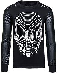 BOLF - Sweat-shirt - Pull de sport – avec impression – STEGOL 218 - Homme