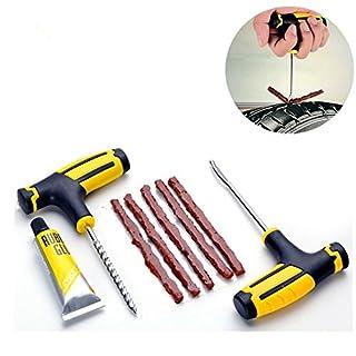 1Profi-Set für Auto-/ Motorrad-/ Fahrrad-Reifen-Reparatur, Werkzeug-Set