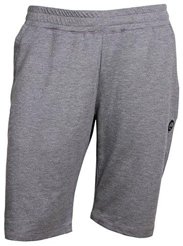 OGNX Yoga Hose Deluxe Pant Short Herren Sport Shorts Freizeithose kurze Hose, grau, M