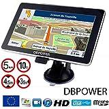 NAVIGATEUR DBPOWER-772 GPS 7 POUCES SPECIAL POIDS LOURDS CAMION VERSION 2016 HD