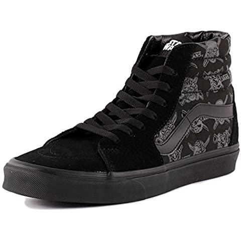 Vans Star Wars Sk8-Hi Womens Suede & Canvas Trainers Black Black - 39 EU
