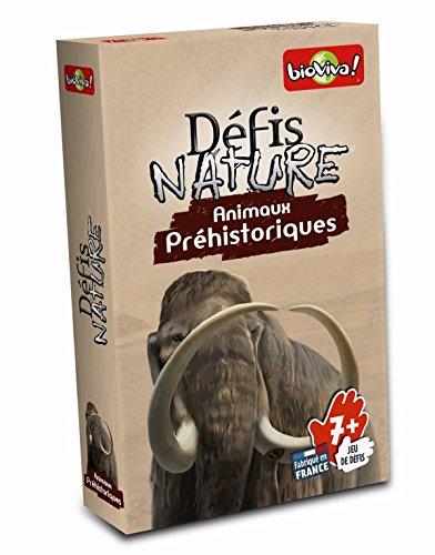 Défis Nature - 282673 - Animaux préhistoriques -  Marron