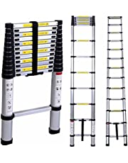 Inditradition Foldable Telescoping Ladder | Ultra Stable, Compact