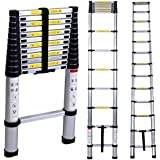 Inditradition Ultra-Stable Aluminium Folding Step Ladder - 2 Mtr (6.5 Feet)