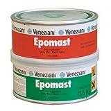 Veneziani Epomast Stucco epossidico ad uso generale, colore: Grigio chiaro, size: 2 kg A+B