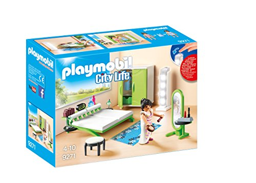 Playmobil- Chambre avec Espace Maquillage, 9271