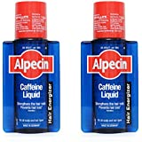 Alpecin Caffeine Liquid Hair Energizer for all Hair Types- 200ml each (Pack of 2)
