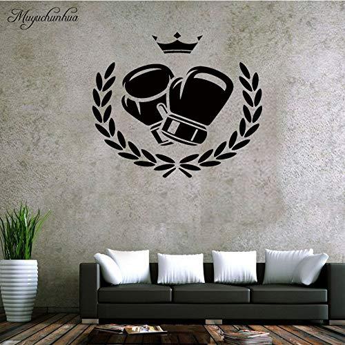 Tianpengyuanshuai Boxhandschuhe Logo Wanddekoration Wandaufkleber Kinderzimmer Wohnzimmer Boxhalle 58cm X 49cm
