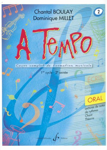 A Tempo - Partie Orale - Volume 2 par Boulay Chantal
