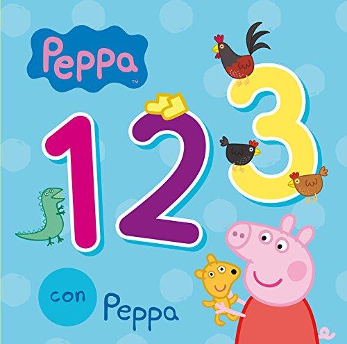 123 con Peppa (Peppa Pig. Todo cartón) por Varios autores
