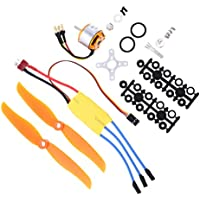 NON Sharplace RC 2200KV Brushless Motor 2212-6 + 30A ESC + Hélices para RC
