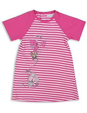 The Essential One - Baby Kinder Mädchen Kleid - Rosa/WeiB - EOT335
