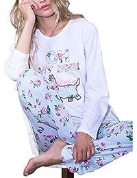 ADMAS - Pijama Mujer LOU LOU Mujer