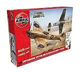Airfix - Kit con Pinturas, Aviones Supermarine Spitfire MkVb/ Messerschmitt BF109E (Hornby A50160)